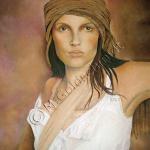 Flicka med turban